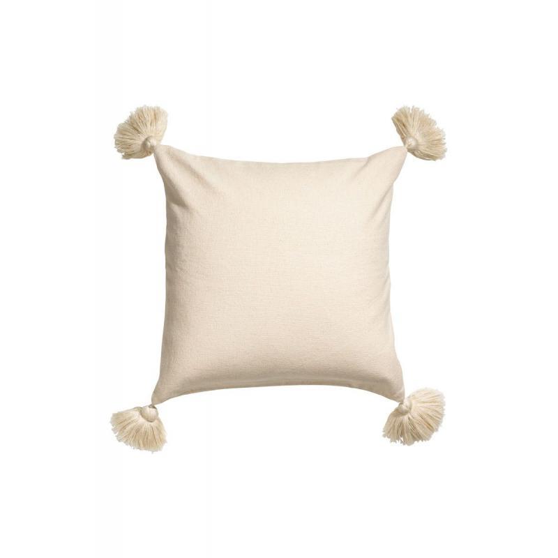Подушка с бахромой