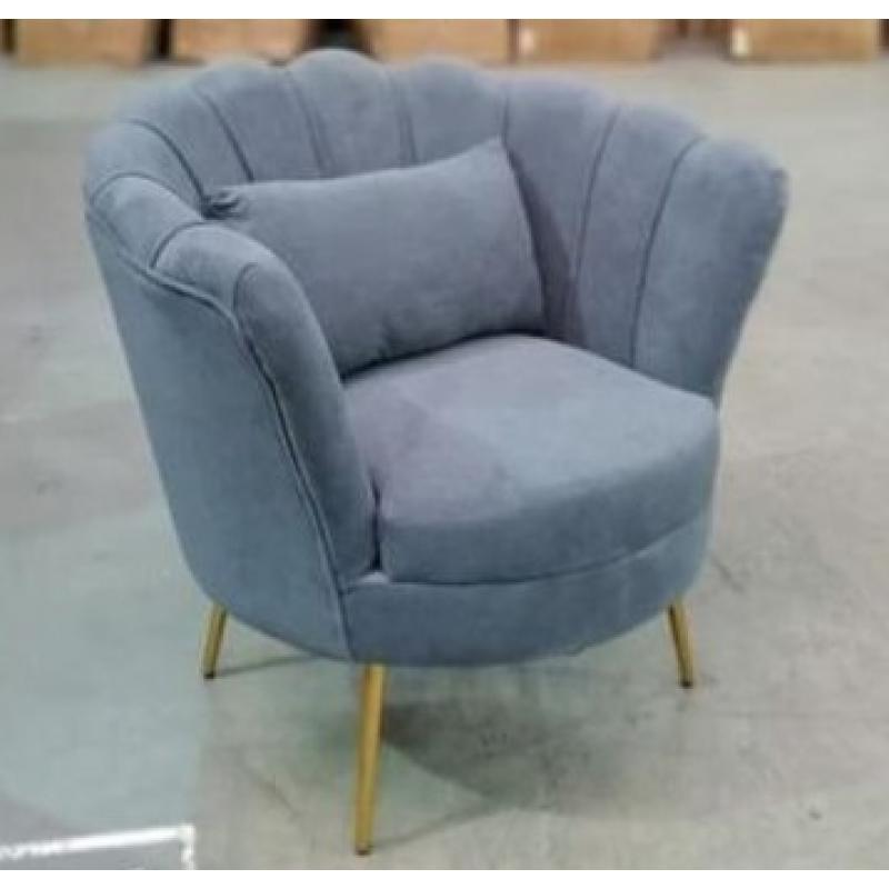 Кресло Lotus Grey