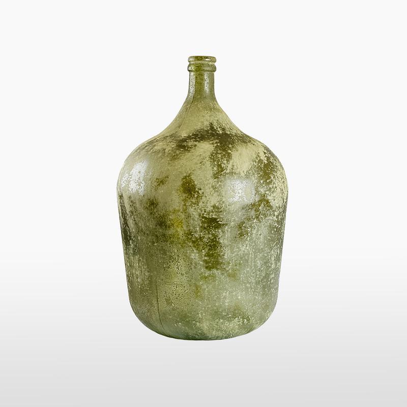 Бутылка темно-зеленая матовая