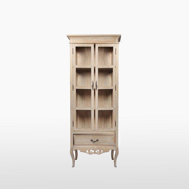 Шкаф деревянный с ящиками