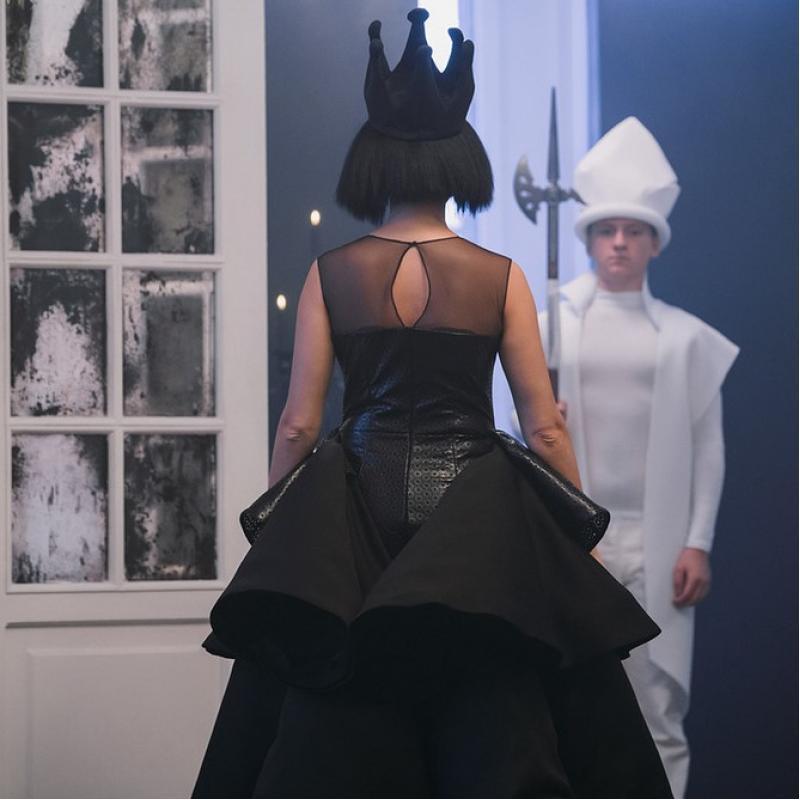 Костюм женский Черная королева