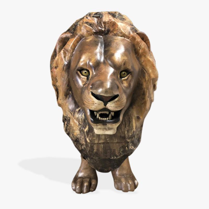 Декоративный лев