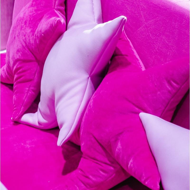Подушка декоративная в виде звезды