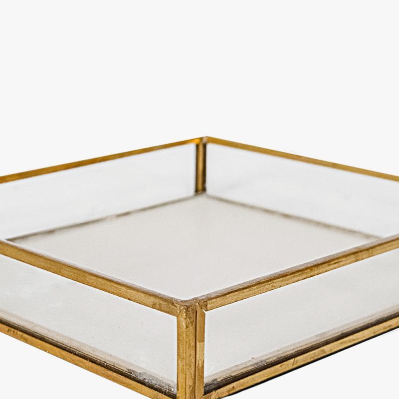 Шкатулка стеклянная GOLD