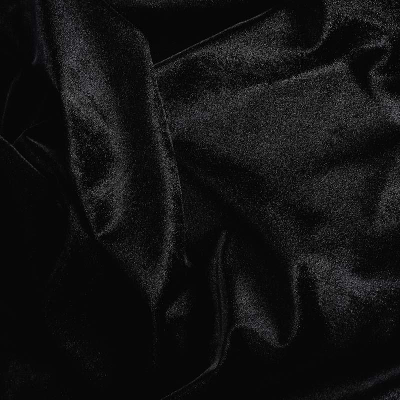 Штора черная