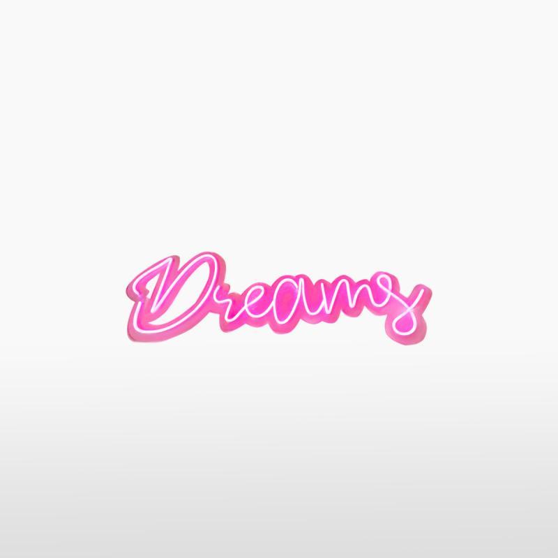 Световая надпись DREAMS