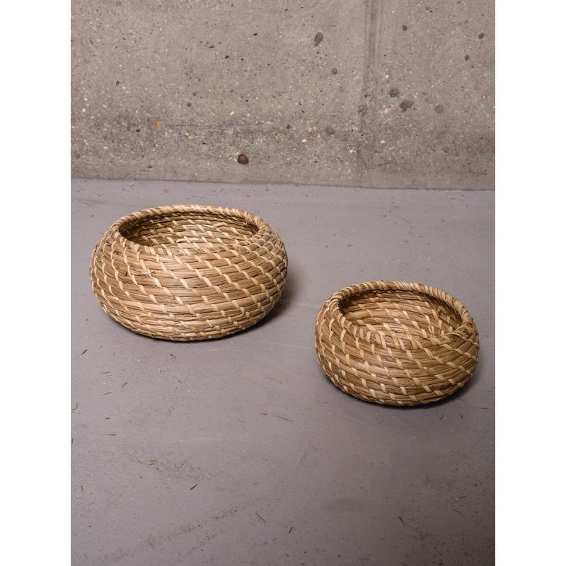 Набор шкатулок плетённых