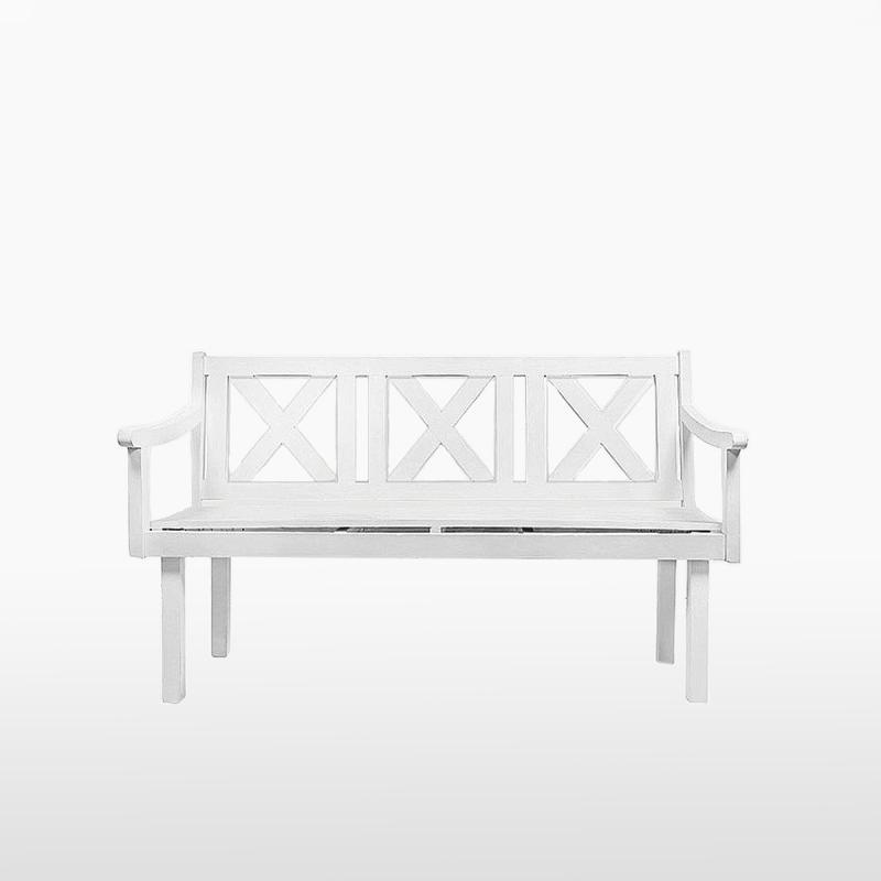 Скамейка TOTAL WHITE