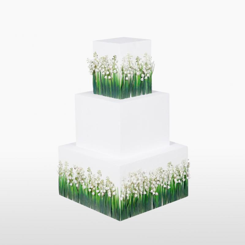 Арт объект FLOWER CAKE