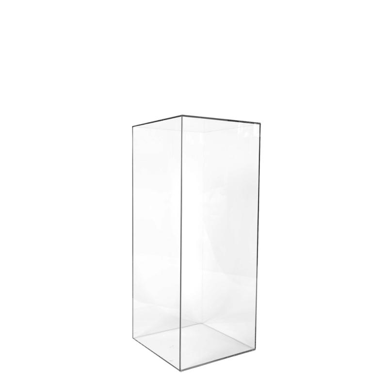 Тумба прямоугольная прозрачная