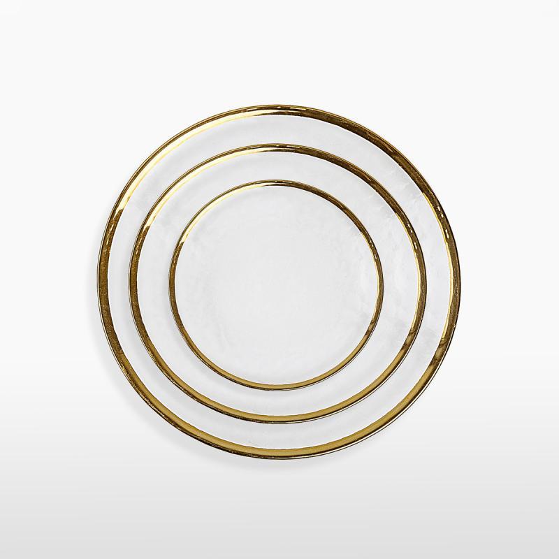 Набор тарелок SABRINA GOLD