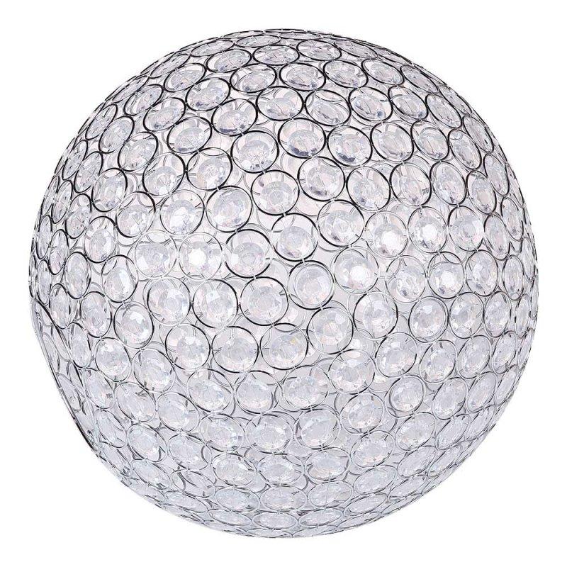 Декоративные шары хрустальные большие